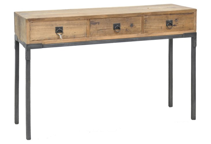 Baylor 3-Drawer Console