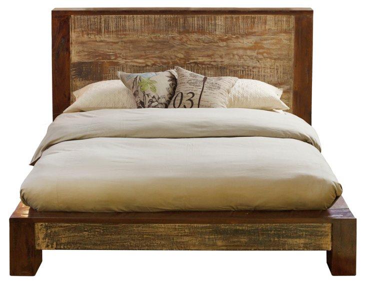 Dakota Reclaimed Bed