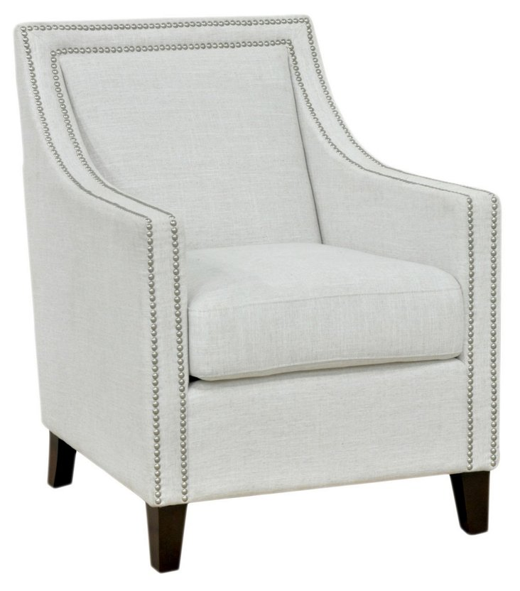 Westfield Club Chair, Ivory