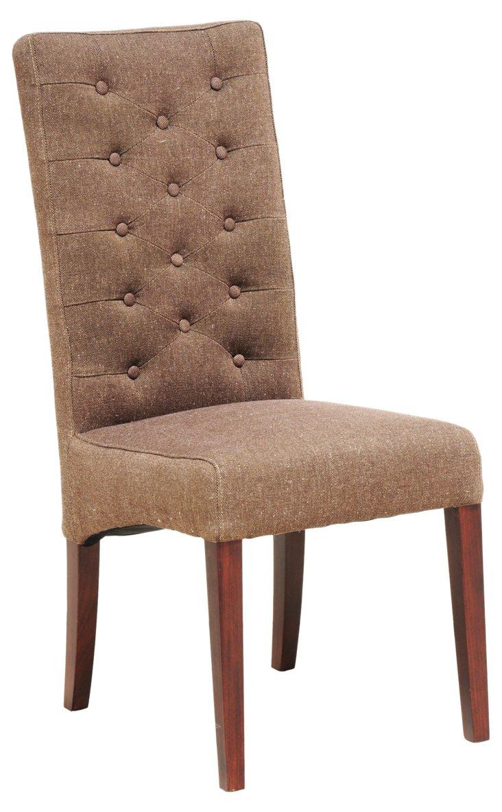 Soho Side Chair, Umber