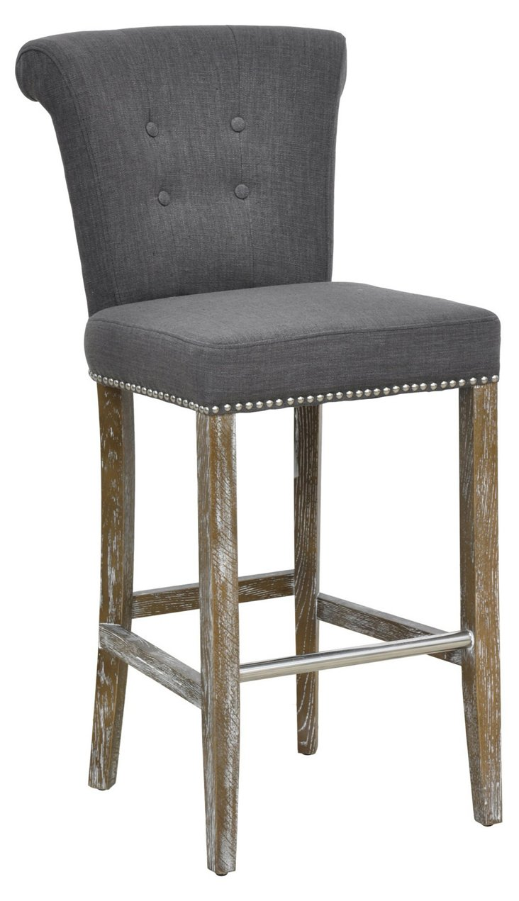 Veranda Counter Stool, Gray