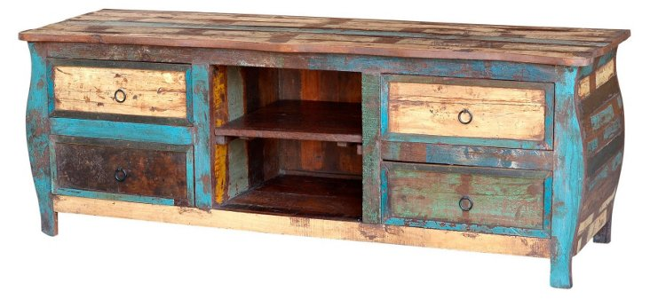 Samara 4-Drawer Media Cabinet