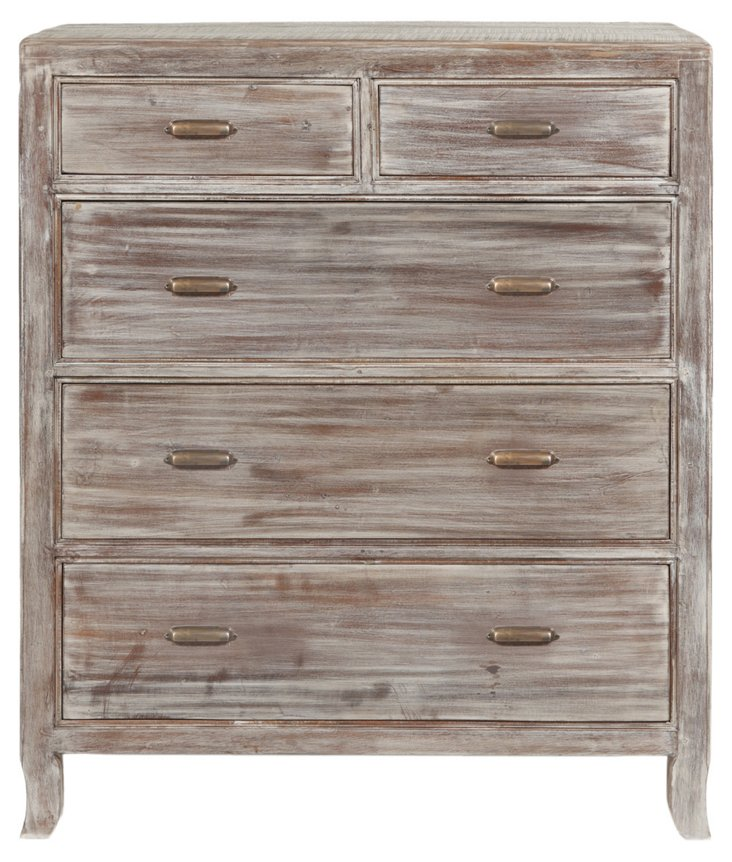 Jacob 5-Drawer Chest