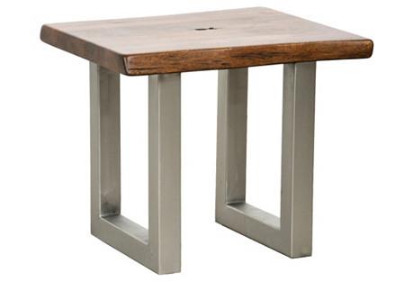 Kai Side Table, Light Walnut