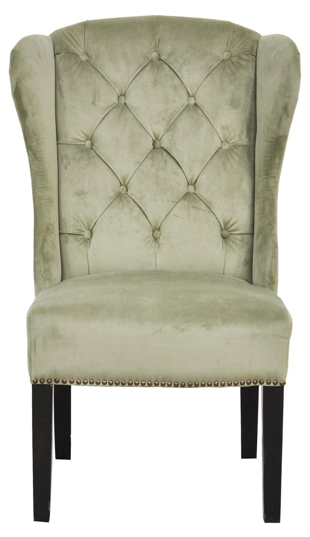 Hayes Side Chair, Olive
