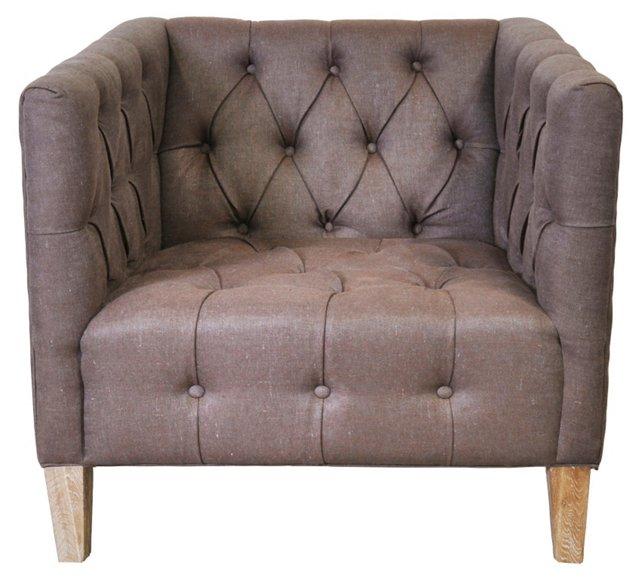 Emmerson Club Chair, Sable