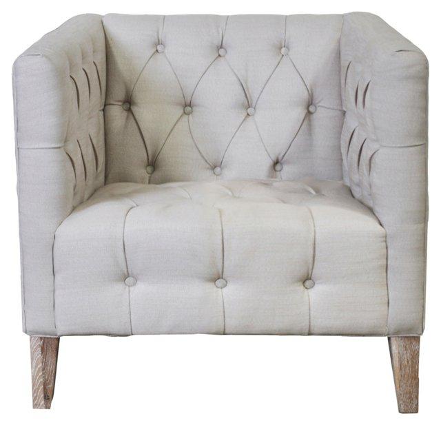 Emmerson Chair, Cement