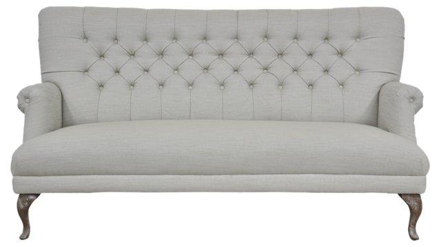 """Lansing 74"""" Sofa, Cement"""