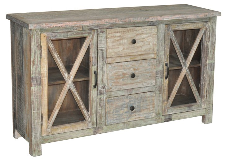 Lucy 3-Drawer Sideboard