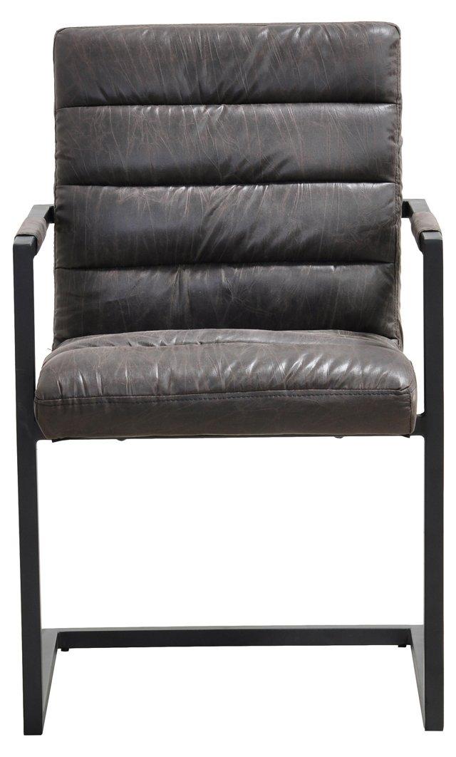 Rosalie Leather Armchair