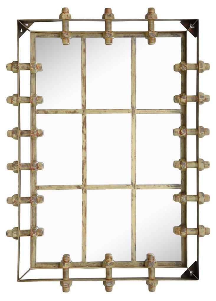 Thomson Oversize Mirror, Bronze
