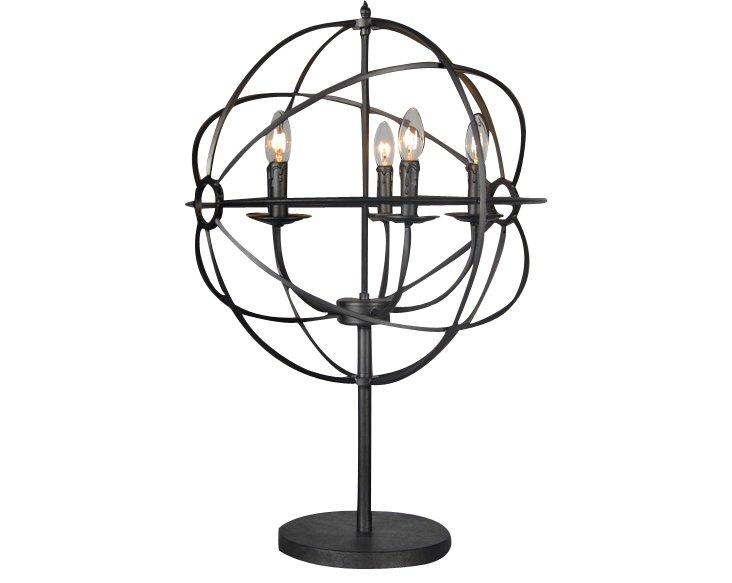 Lara Table Lamp, Iron