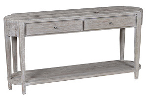 Carsten Console, Limed Natural