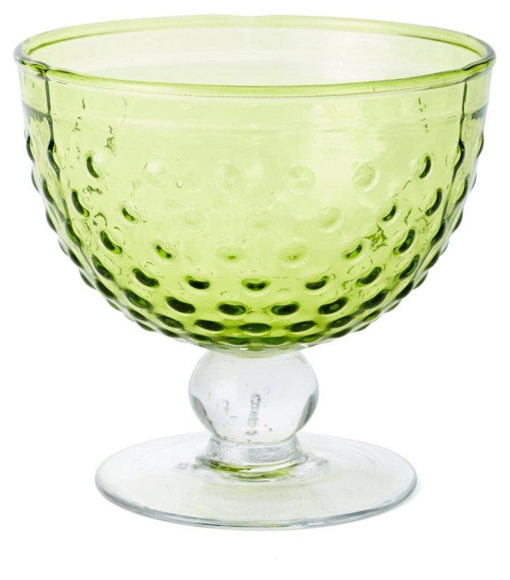 S/4 Dessert Bowls, Green