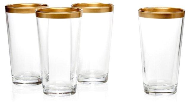 S/4 Villa Maria Highball Glasses
