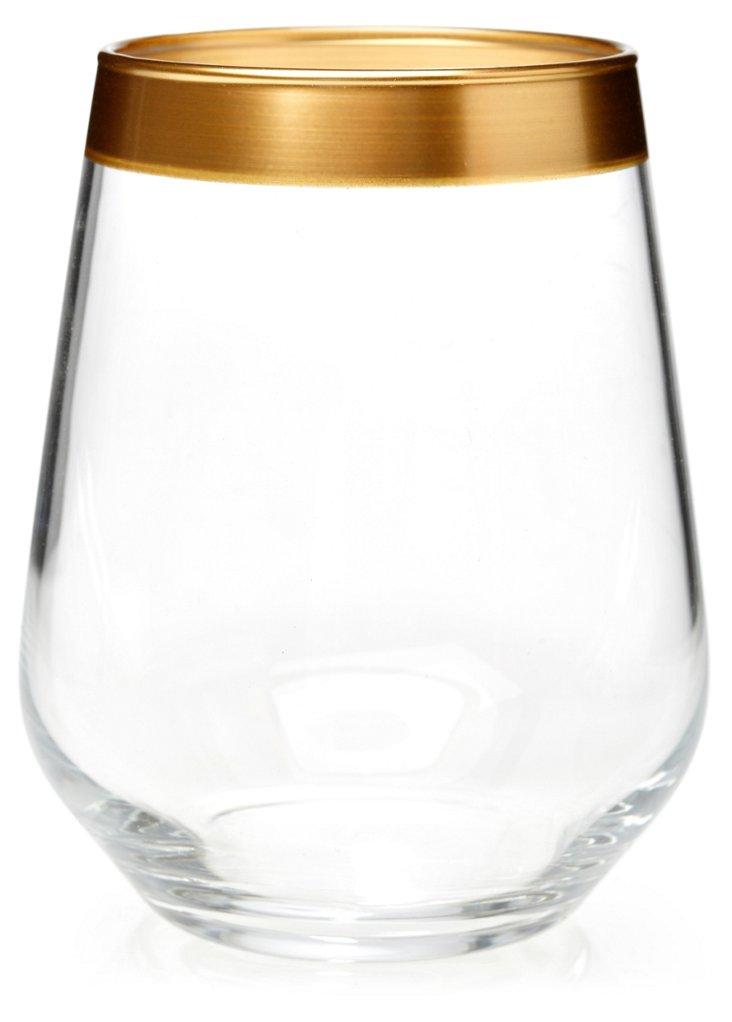 S/8 Villa Maria Stemless Wineglasses