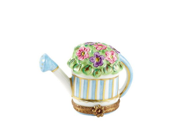 Watering Can with Flowers Box