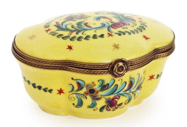 Yellow Nouveau Box