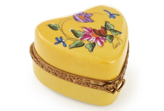 Yellow Heart Box