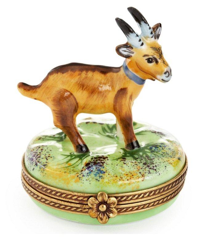 Goat Limoges Box