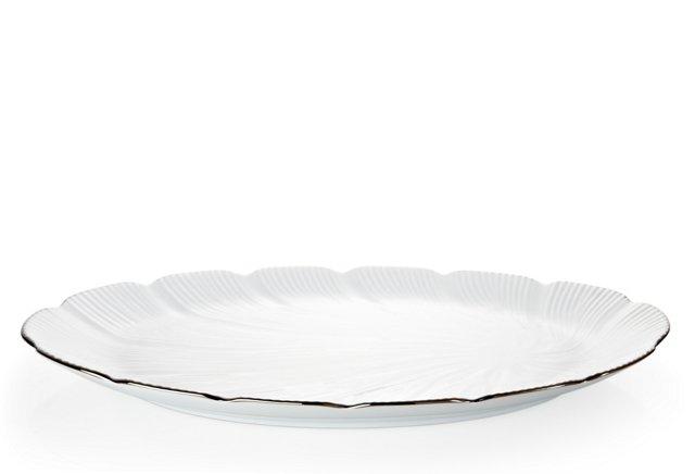 Oval Platter, Silver