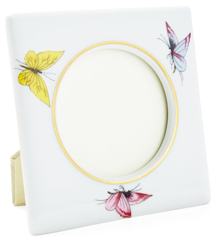 Pastel Butterfly Frame, 3.5x3.5
