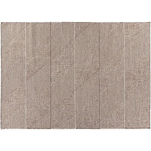 Sonata Flat-Weave Rug, Brown