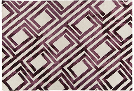 Melody Rug, Purple