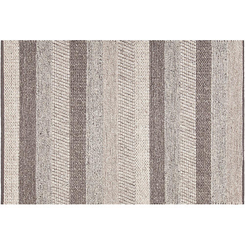 Anaqua Rug, Gray/Brown