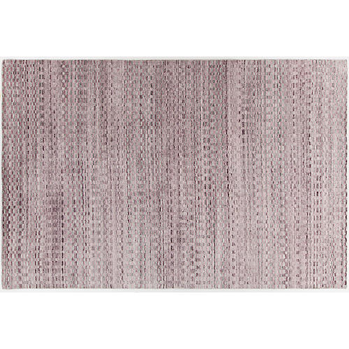 Bambridge Rug, Pink/Silver