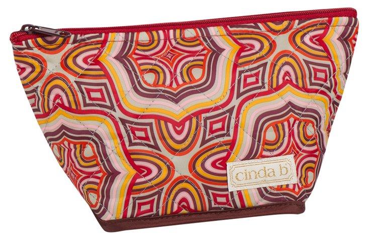 Medium Cosmetic Bag, Red