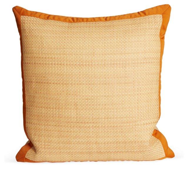 Cotton & Seagrass Pillow