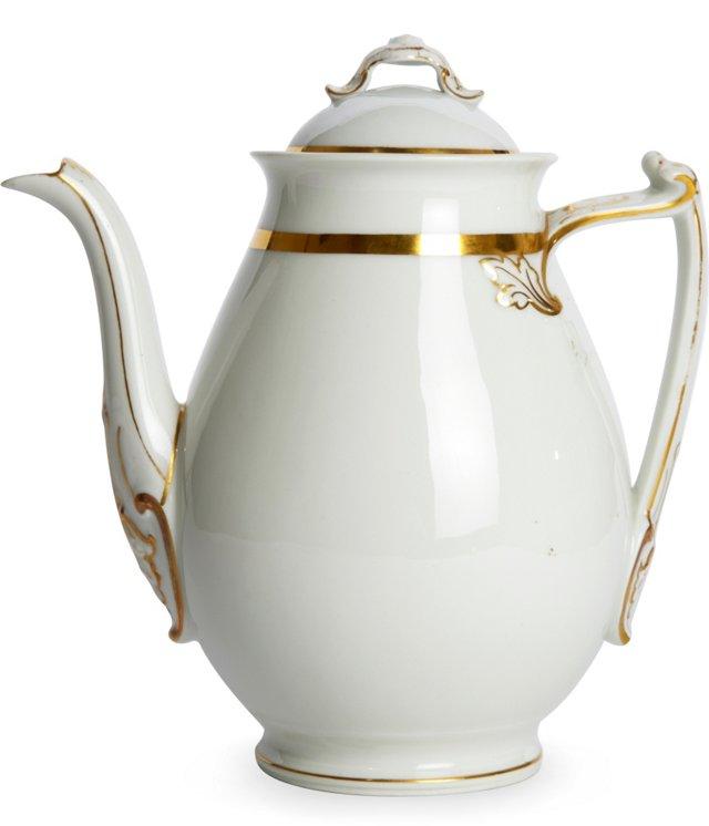 Limoges Teapot w/Lid