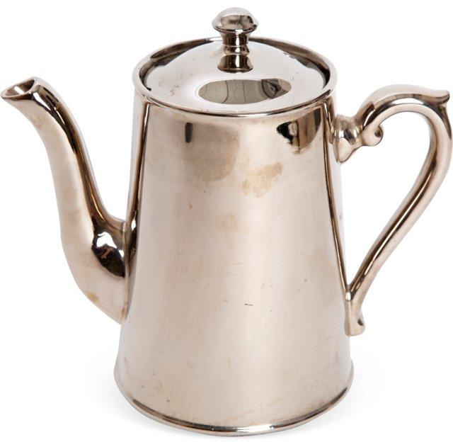 Porcelain Teapot w/Lid
