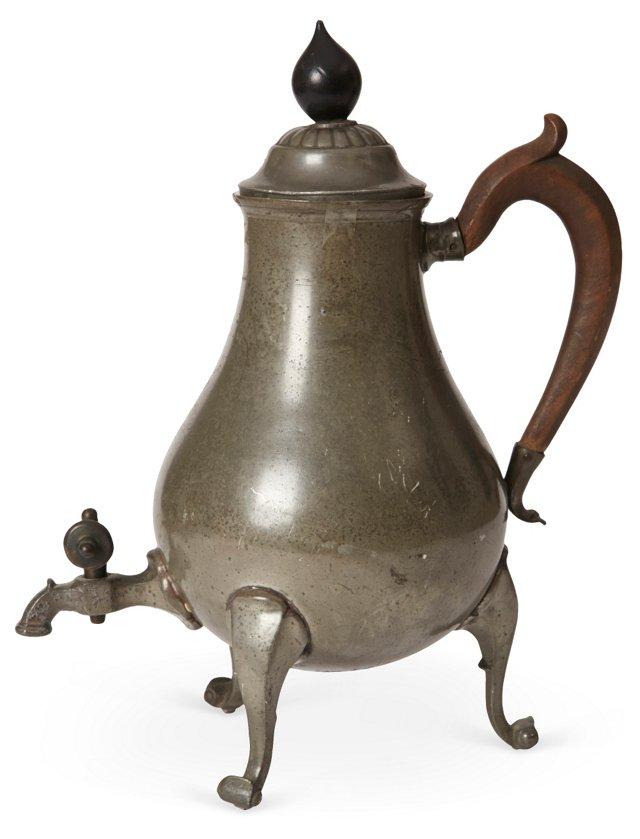 Pewter Coffeepot II