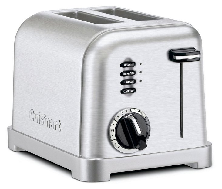 Classic 2-Slice Toaster, Silver