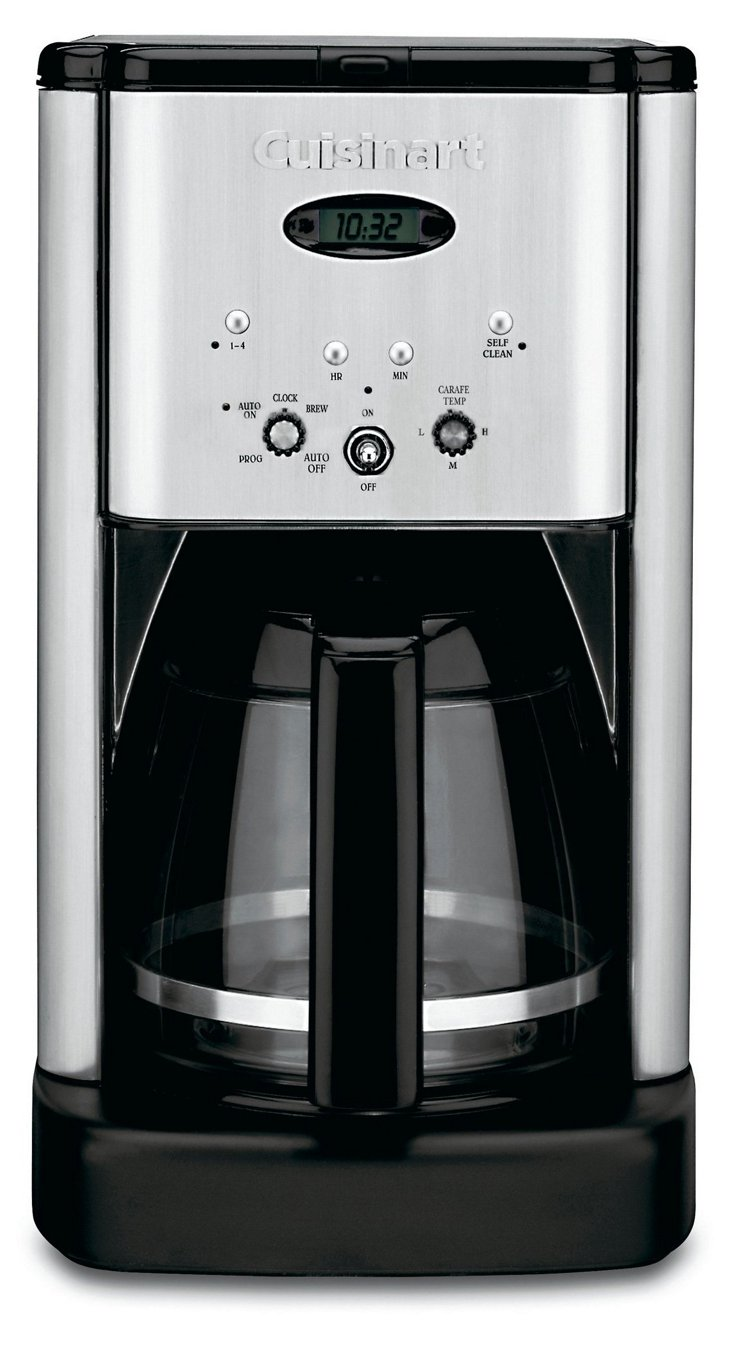 12-Cup Programmable Coffeemaker, Silver