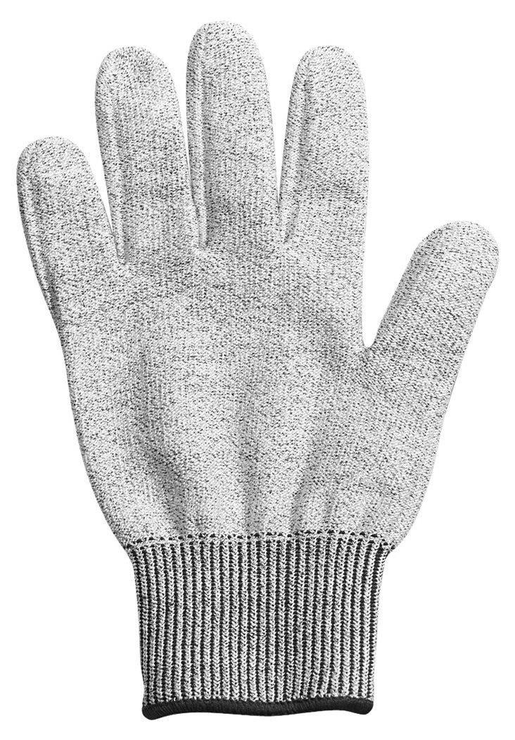 Mandoline Cut Resistant Glove, Silver