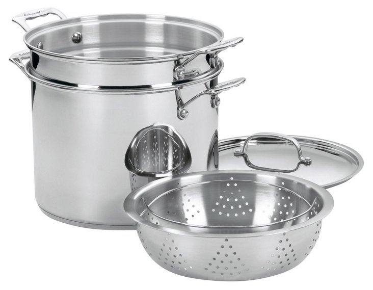 4-Pc Chef's Classic Pasta/Steamer Set