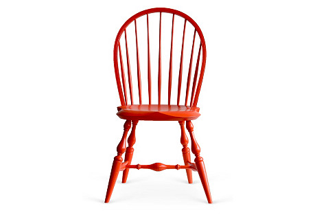 Fox Point Side Chair, Persimmon