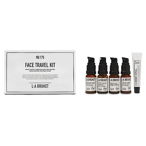 L:A Bruket Face Travel Kit