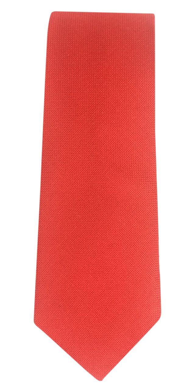 Silk Tie, Red