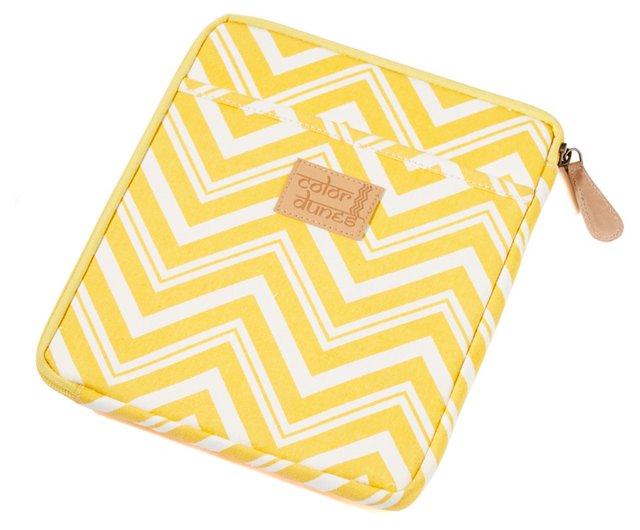 iPad Sleeve, Turmeric Yellow