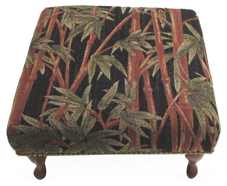 Bamboo Forest Ottoman
