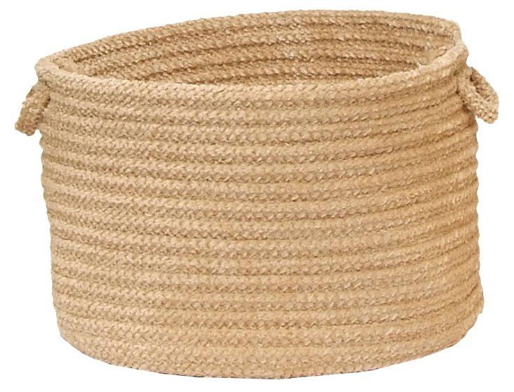 Woven Basket, Sand