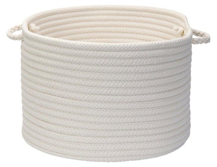 Indoor/Outdoor Basket, White