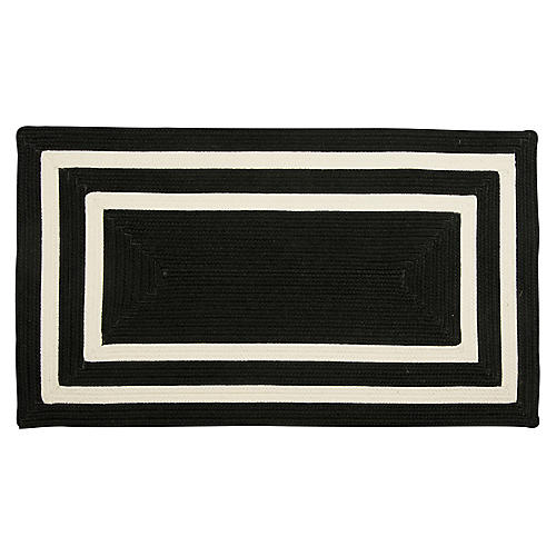 Alzbeta Outdoor Rug, Black