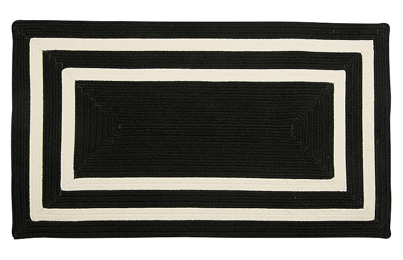 Alzbeta Outdoor Rug, Black
