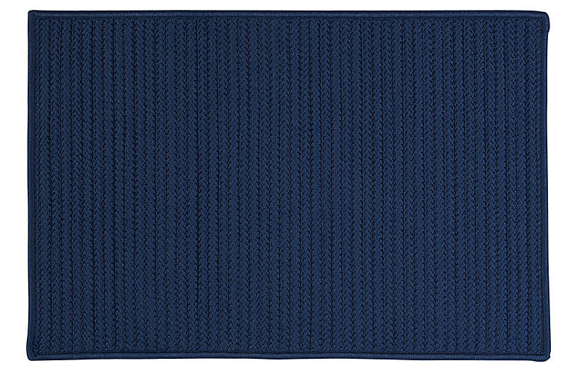 Frantiska Outdoor Rug, Blue