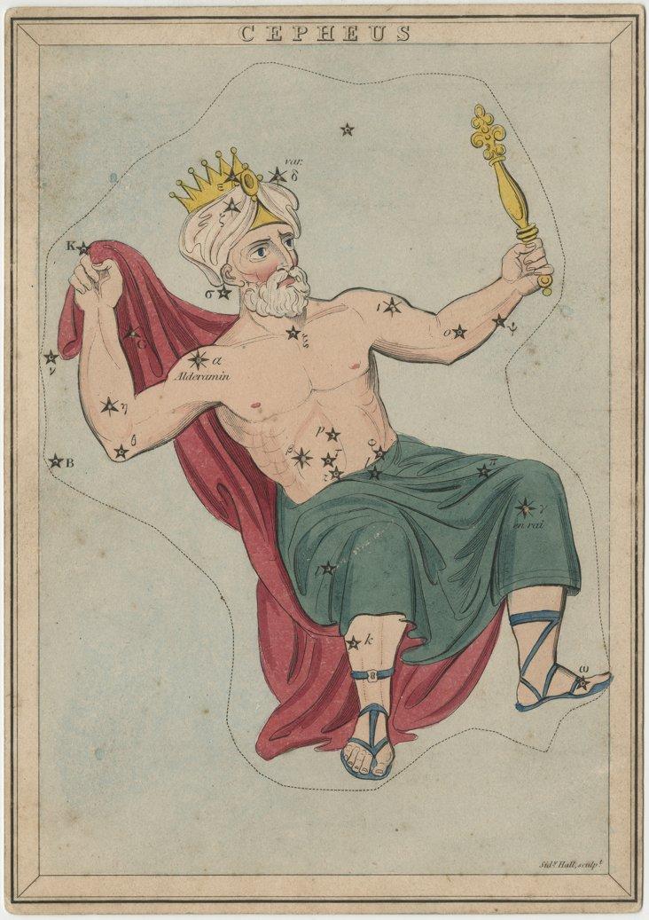 Cepheus Framed Print
